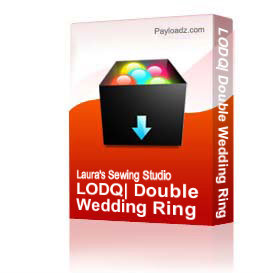 LODQ: Double Wedding Ring 4x4 - PCS | Other Files | Arts and Crafts