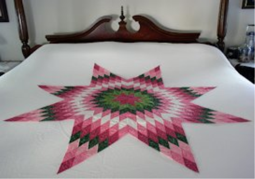 First Additional product image for - Laura's Lone Star Machine Embroidery Project JEF