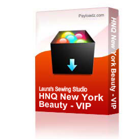 HNQ New York Beauty - VIP | Crafting | Embroidery