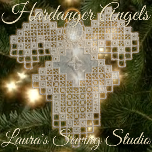 First Additional product image for - Hardanger Angel Mary Jane