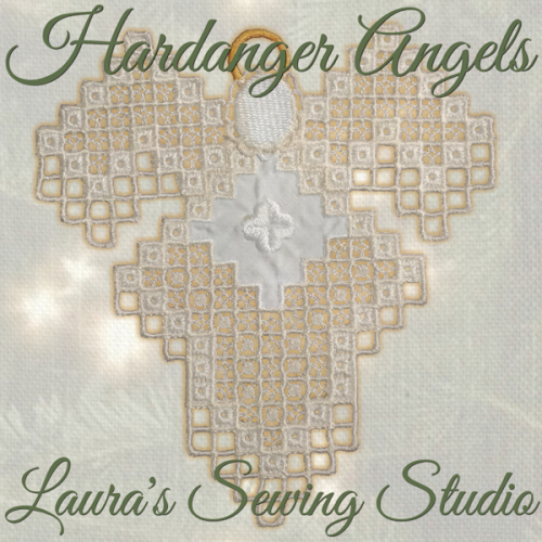 Second Additional product image for - Hardanger Angel Mary Jane