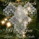 Hardanger Angel Mary Jane | Crafting | Embroidery