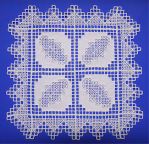 Hardanger Dimensions for 4x4 VIP | Crafting | Embroidery