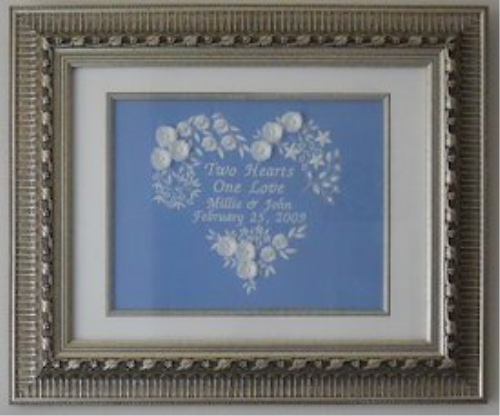 First Additional product image for - Laura's Two Hearts One Love SEW