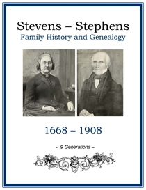 Stevens Stephens Family History and Genealogy | eBooks | History