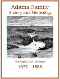 Adams Family History and Genealogy | eBooks | History