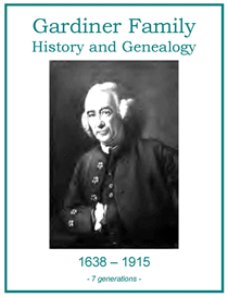 Gardiner Family History and Genealogy | eBooks | History