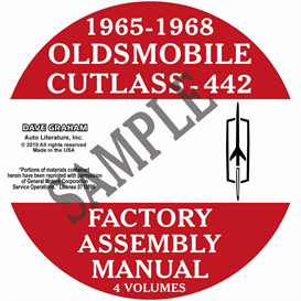 1965-1968 Oldsmobile Factory Assembly Manuals | eBooks | Automotive