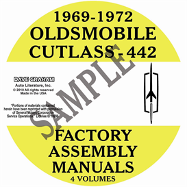 1969-1972 Oldsmobile Factory Assembly Manuals | eBooks | Automotive