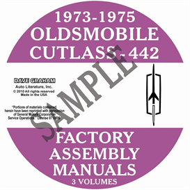 1973-1975 Oldsmobile Factory Assembly Manuals | eBooks | Automotive