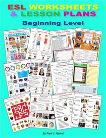 Esl Worksheets And Lesson Plans, Beginning Level, E- Book 1 | eBooks | Education