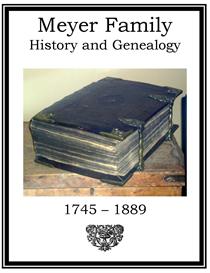 Meyer Family History and Genealogy | eBooks | History