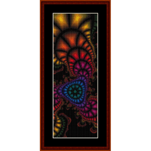 Fractal 272 Bookmark cross stitch pattern by Cross Stitch Collectibles | Crafting | Cross-Stitch | Other