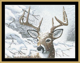 Dancing In Snow -  Cross Stitch Download | Crafting | Cross-Stitch | Other