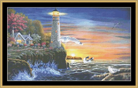 Evening Lights - Cross Stitch Download | Crafting | Cross-Stitch | Other