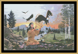 Eagle Dreams - Cross Stitch Download   Crafting   Cross-Stitch   Other