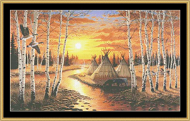 River Of Time - Cross Stitch Download | Crafting | Cross-Stitch | Other