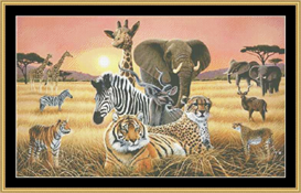 Safari - Cross Stitch Download | Crafting | Cross-Stitch | Other