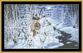 Whispering Winds - Cross Stitch Download | Crafting | Cross-Stitch | Other