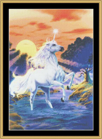 Unicorn Sunset - Cross Stitch Download | Crafting | Cross-Stitch | Other