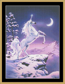 Moonlight Unicorn - Cross Stitch Download | Crafting | Cross-Stitch | Other