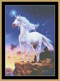 Unicorn Comets - Cross Stitch Download | Crafting | Cross-Stitch | Other