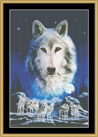 Night Of Wolves - Cross Stitch Download | Crafting | Cross-Stitch | Other