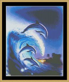 Riding The Tide - Cross Stitch Download | Crafting | Cross-Stitch | Other