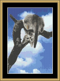 Hanging Out - Cross Stitch Download | Crafting | Cross-Stitch | Other