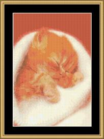 Angora Kitty - Cross Stitch Download | Crafting | Cross-Stitch | Other