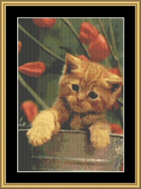 In The Bucket - Cross Stitch Download | Crafting | Cross-Stitch | Other