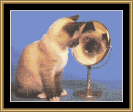 Mirror, Mirror - Cross Stitch Download | Crafting | Cross-Stitch | Other