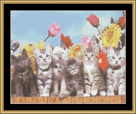 On The Fence - Cross Stitch Download | Crafting | Cross-Stitch | Other