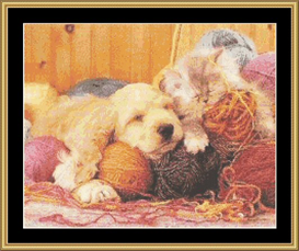 Nap Time - Cross Stitch Download | Crafting | Cross-Stitch | Other