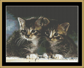 Twins - Cross Stitch Download | Crafting | Cross-Stitch | Other
