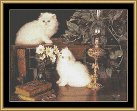 In The Study - Cross Stitch Download | Crafting | Cross-Stitch | Other