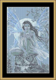 Blue Moon Faery - Cross Stitch Download | Crafting | Cross-Stitch | Other