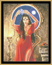 The Priestess - Cross Stitch Download | Crafting | Cross-Stitch | Other