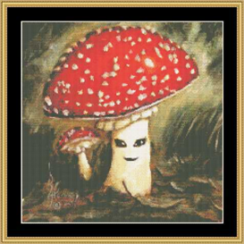 Shroom Ii - Cross Stitch Download | Crafting | Cross-Stitch | Other