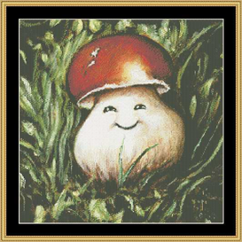 Shroom Iii - Cross Stitch Download | Crafting | Cross-Stitch | Other