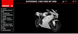 Download the Automotive eBooks | Ducati 1198 / 1198S Service Repair Manual 2009