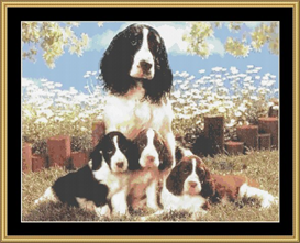 Family Portrait - Cross Stitch Download | Crafting | Cross-Stitch | Other