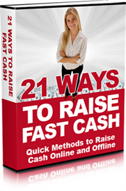 21 Ways to Raise Quick Cash | eBooks | Business and Money