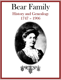 Bear Family History and Genealogy | eBooks | History