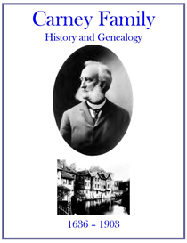 Carney Family History and Genealogy | eBooks | History