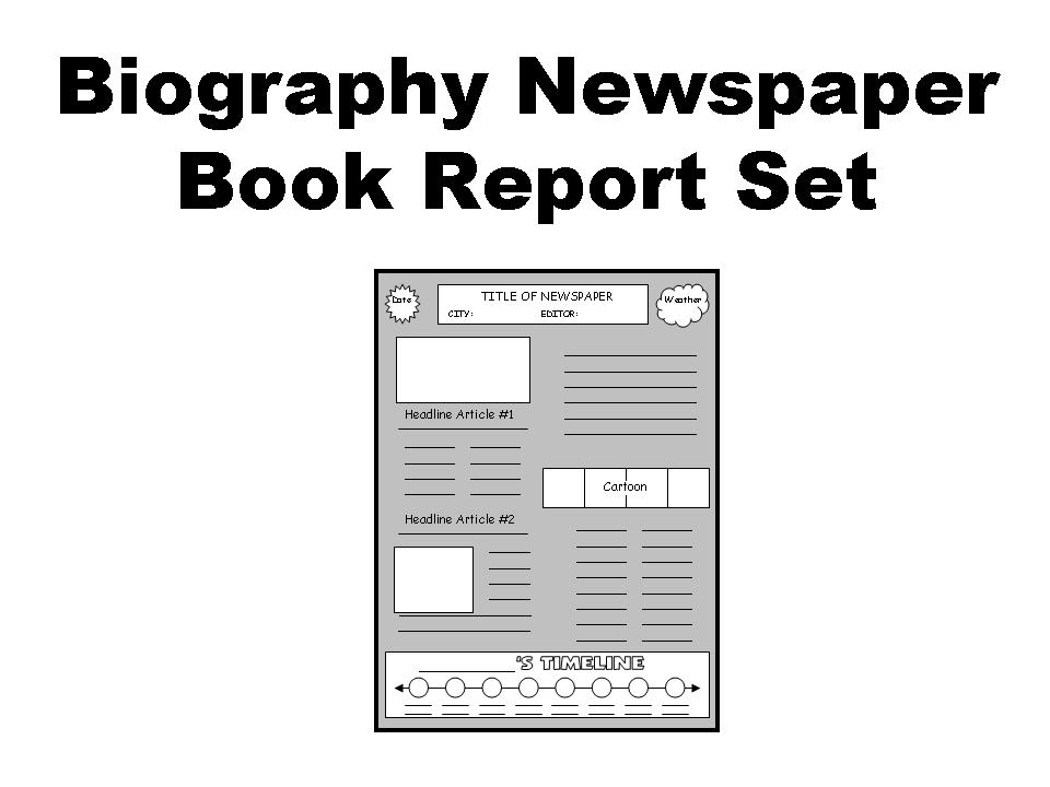 newspaper book review template - Engne.euforic.co