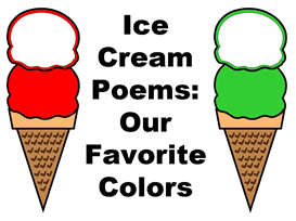 Ice Cream Poems - Our Favorite Color | Other Files | Documents and Forms