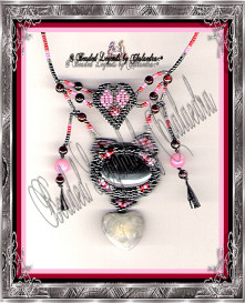 Heart Peyote Cab Necklace | eBooks | Arts and Crafts