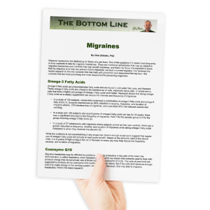 Migraines - The Bottom Line | Other Files | Documents and Forms