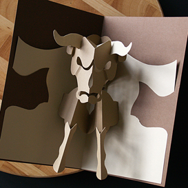 Taurus/Bull - EasyCutPopup | eBooks | Arts and Crafts